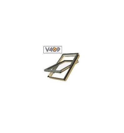 Kyvné okno FTP-V U3 114x140 drevené
