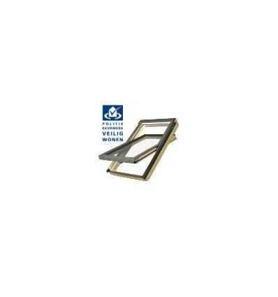 Kyvné okno FTP-V P2 Secure (drevené)