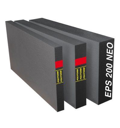 Podlahový polystyrén sivý s grafitom Polyform EPS 200 NEO