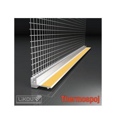 LS-VH 06/2400/Vertex/lišta okenná začisťovacia 6mm