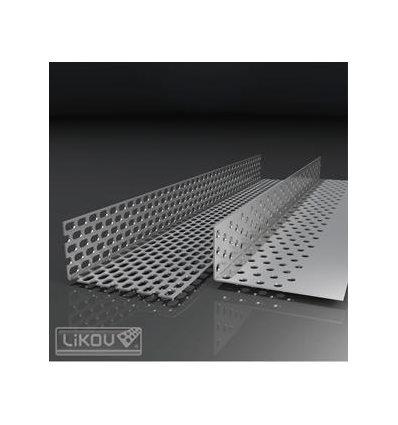 LU-C lišta uzatváracia perforovaná