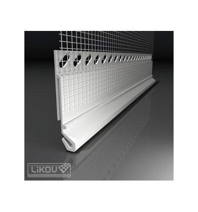 LX-45/2000/VERTEX/lišta ukončovacia pre napojenie oplechovania