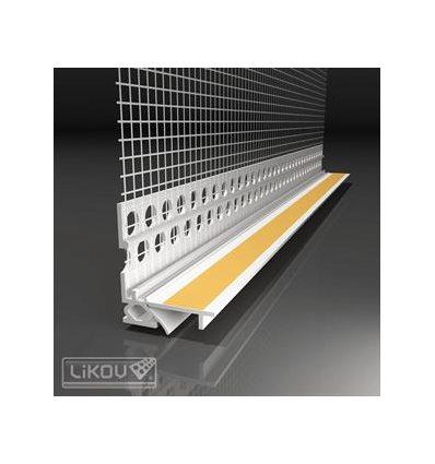 LS2-FLEX 06/2600/VERTEX/lišta okenná začisťovacia 2D 6mm
