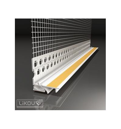 LS2-FLEX 09/2600/VERTEX/lišta okenná začisťovacia 2D 9mm