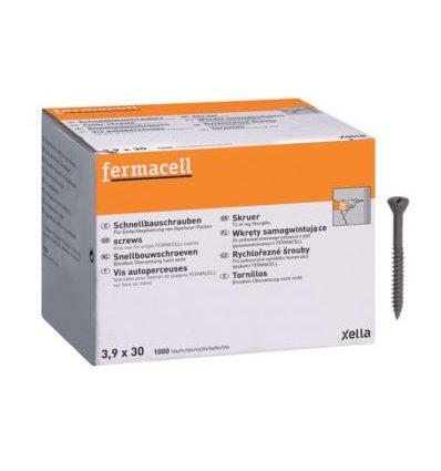 Rýchlorezné šróby 3,9x30 mm (1000ks) Fermacell 79011