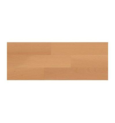 3-vrstvová masívna plávajúca podlaha Eurowood Buk parený / 3-lamely, lak