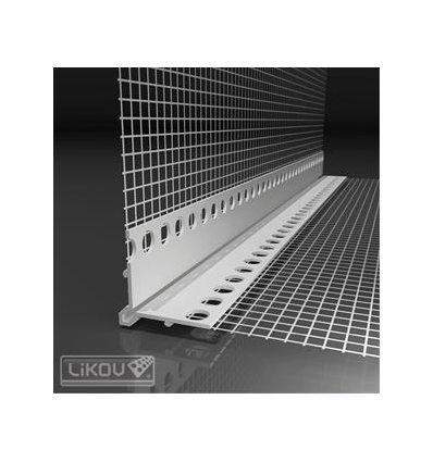 LK-VH PVC 100/2500/VERTEX/lišta rohovás viditeľnou hranou
