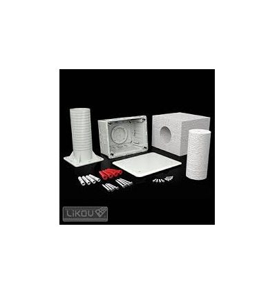 KUZ-VI elektroinštalačná krabica pre ETICS