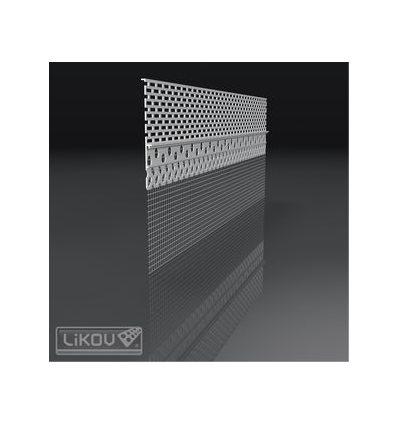 LX-DB 06/200/VERTEX/lišta ukončovacia odvetrávacia