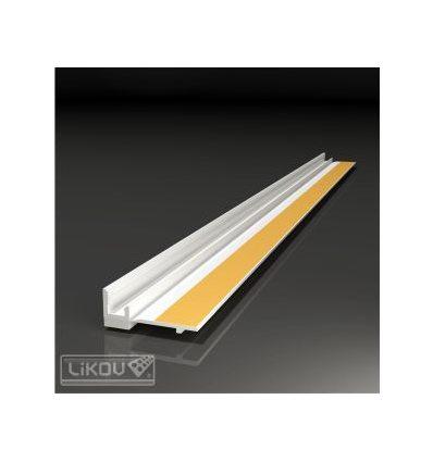 PS-VH 15/.../lišta okenná začisťovacia 15mm