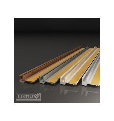 PS-VH 09/2400/.../lišta okenná začisťovacia 9mm
