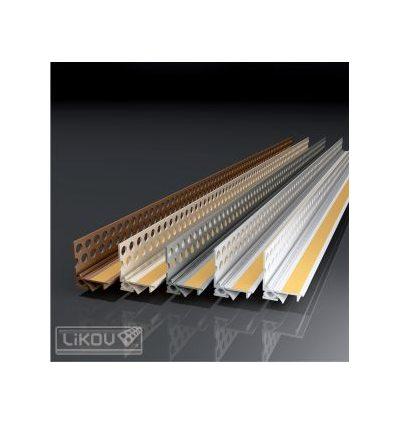 PS2-FLEX 09/2600/lišta okenná začisťovacia 2D 9 mm