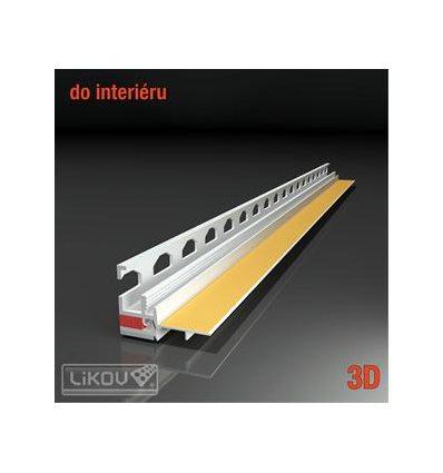 PS3-62 09/2600/lišta okenná začisťovacia 3D Interiér