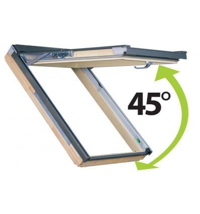 FPP-V preSelect MAX - drevené kyvno výklopné okno