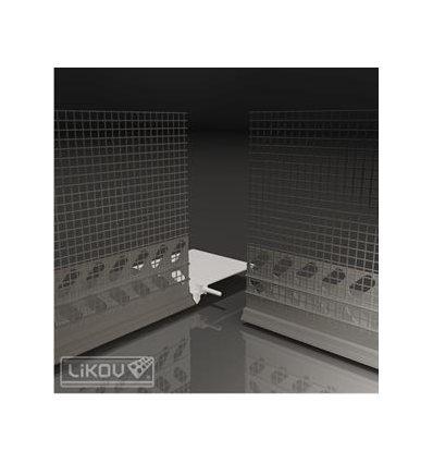 LW-Z18-2I vnútorný roh k LW66-2