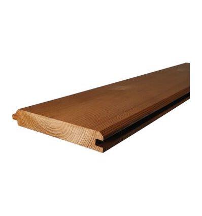 Vonkajší drevený obklad Termoborovica, Klasik profil