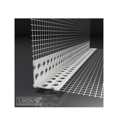 LK-LP PVC 100/2500/VERTEX/lišta rohová s prelisom