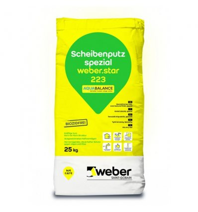 weber.star 223 aquaBalance - minerálna omietka