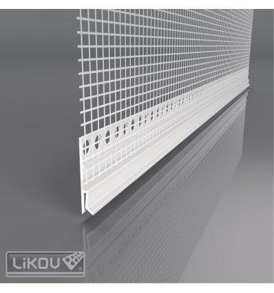 LX-H 2000/VERTEX/lišta parapetná napojovacia flexibilná