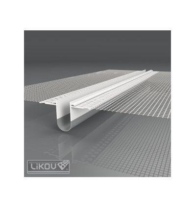 LD-NH PVC 06/2500/VERTEX/lišta dilatačná priebežná 2D