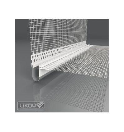 LD-NH PVC 06/2500/VERTEX/lišta dilatačná rohová 2D