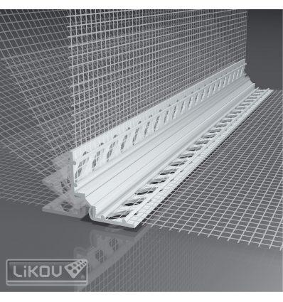 LD-W50 UNI ..../10/2000/VERTEX/lišta dilatačná priebežná/rohová 2D