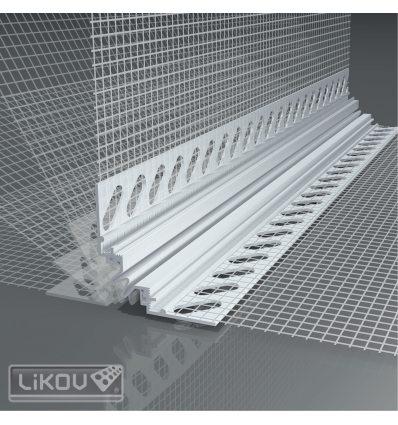 LD-W56 UNI 8,5/2000/VERTEX/lišta dilatačná priebežná/rohová 3D