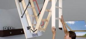 Podkrovné schody slúžia na bezpečný výstup do využitého podkrovia. Zohľadnia Vaše požiadavky na teplo a bezpečie.
