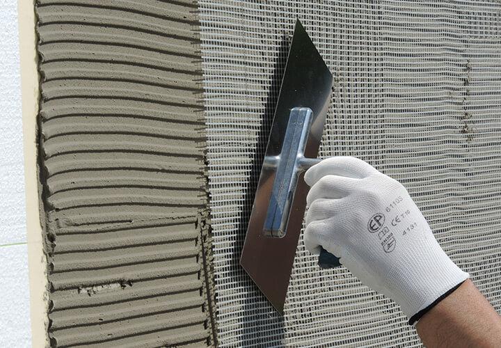 Použitie armovacej tkaniny